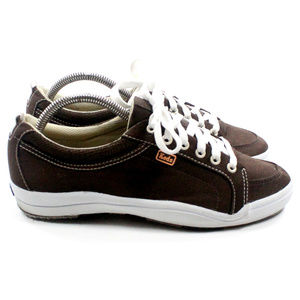 KEDS Anchor Canvas Brown Comfort Sneakers